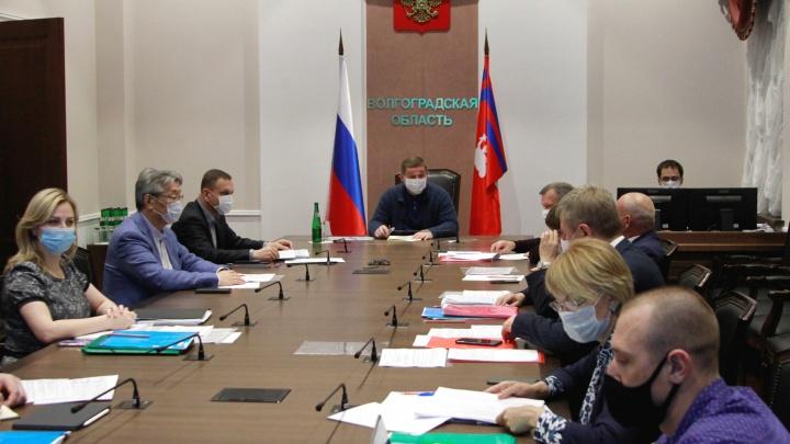 «В закрытом режиме»: в Волгограде прошло заседание оперативного штаба без продления самоизоляции