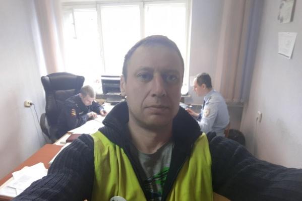 На Илью Архипова составили два протокола — за выход из дома 8 и 17 апреля