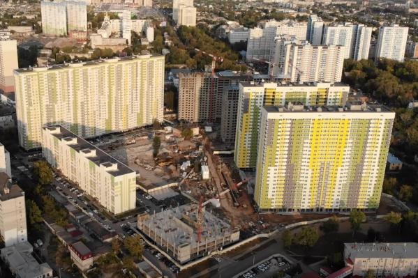 В новом здании пока что два этажа