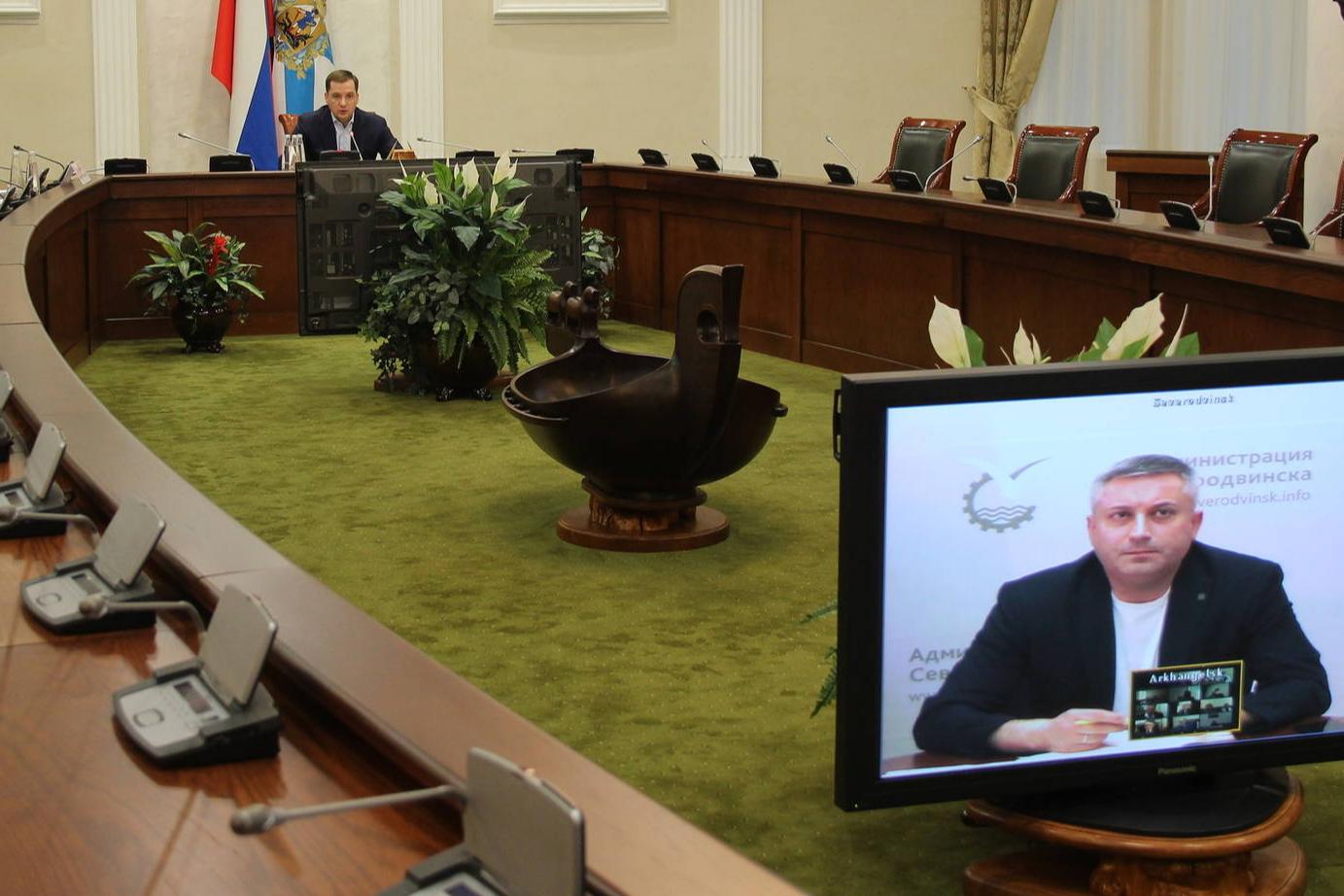 Александр Цыбульский назвал рост случаев COVID-19 в Северодвинске «серьезным очагом инфекции»