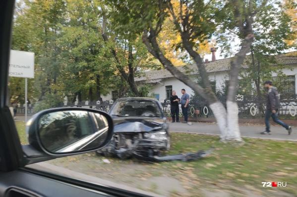 Никто из участников аварии не пострадал