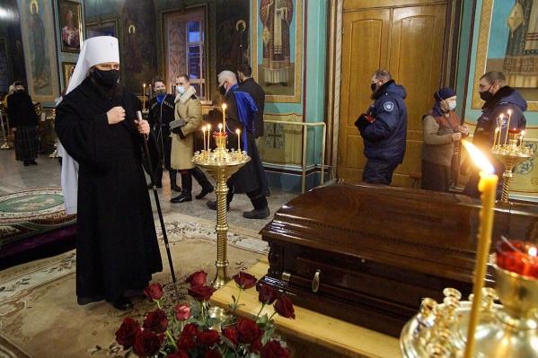 Отпевание прошло в Казанском соборе