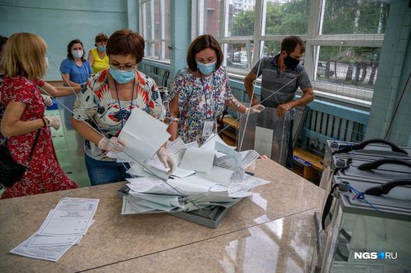 По данным на 18 часов,проголосовали 978 698 жителей Новосибирской области