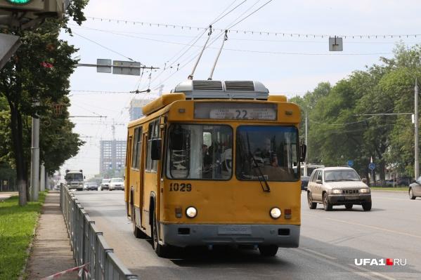 Автопарк пополнится 10 новыми троллейбусами