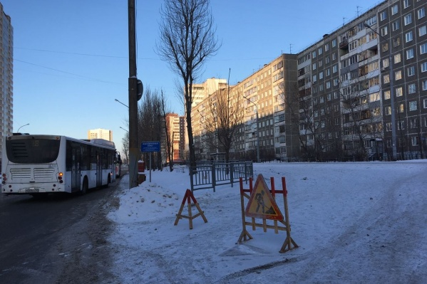 Из-за проведения аварийных работ на улице Куфонина&nbsp;ограничили движение автобусов&nbsp;<br>