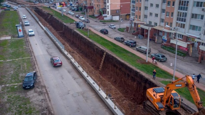 В центре Уфы закроют дорогу до конца сентября
