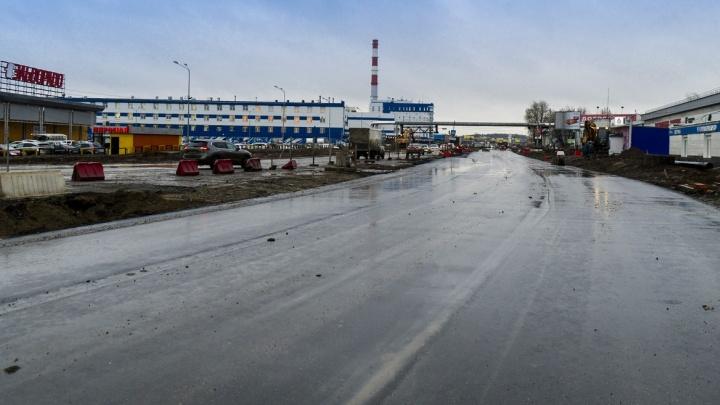 В Перми откроют движение по участку Героев Хасана от Хлебозаводской до Бродовского тракта