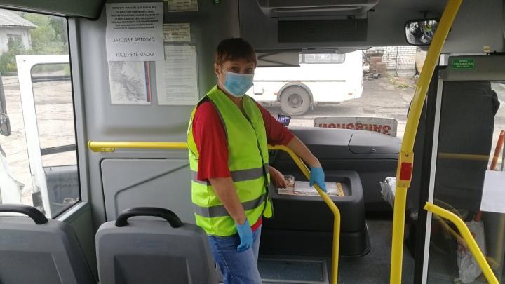 В горадмине рассказали, что 80% пассажиров в автобусах Архангельска не носят маски в период пандемии