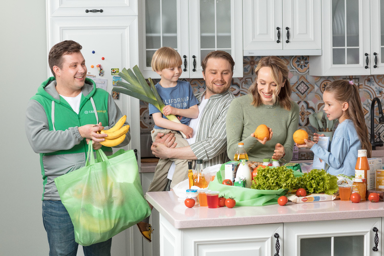 Вам привезут только свежие и качественные продукты к назначенному времени