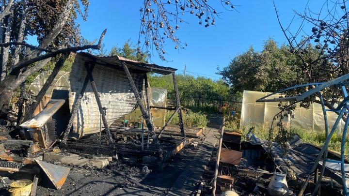 Тела детей обгорели: из-за пожара с 4 погибшими под Самарой возбудили уголовное дело