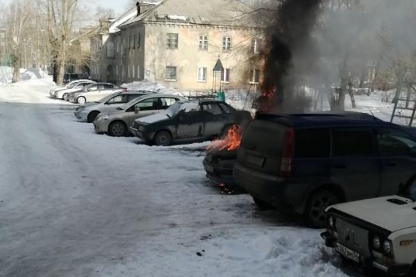 Пожар удалось быстро потушить
