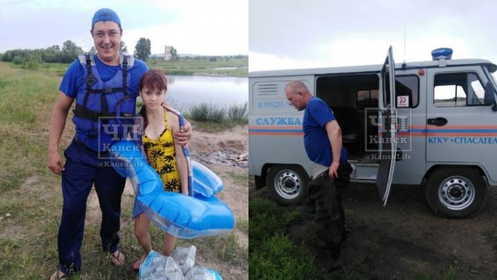 «500 рублей, нет возможности каждый день покупать»: спасателей вызвали на озеро помочь вытащить круг