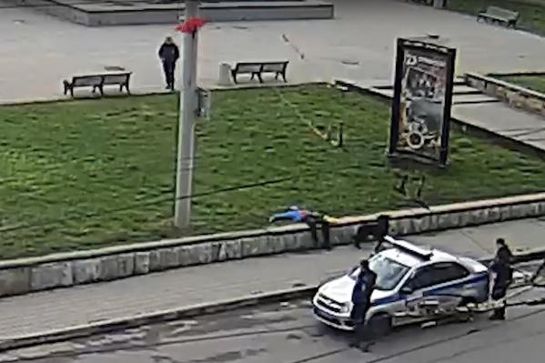 Инцидент произошёл в самом центре Рыбинска — на площади Дерунова