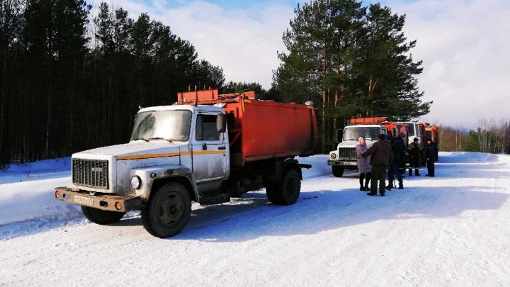 Полигон в поселке Шипицыно открыли для мусоровозов регионального оператора