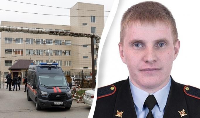 Убитого в Волгограде полицейского похоронят 25 марта