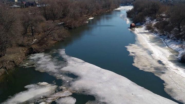 В реках Зауралья ожидается резкий подъем воды