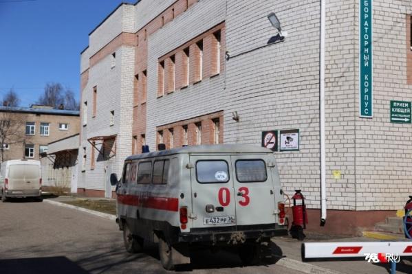 В Ярославле областная инфекционная больница первой приняла пациентов с коронавирусом