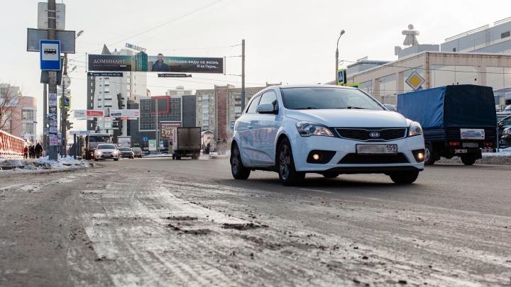 В Перми в экспресс-режиме отремонтировали почти 2 тысячи квадратных метров дорог