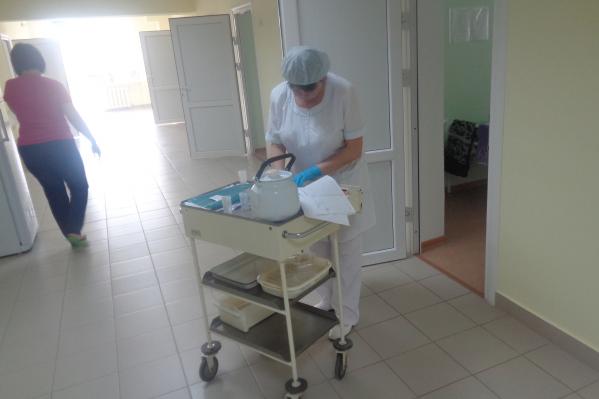 Стационар перепрофилируют под лечение больных коронавирусной инфекцией