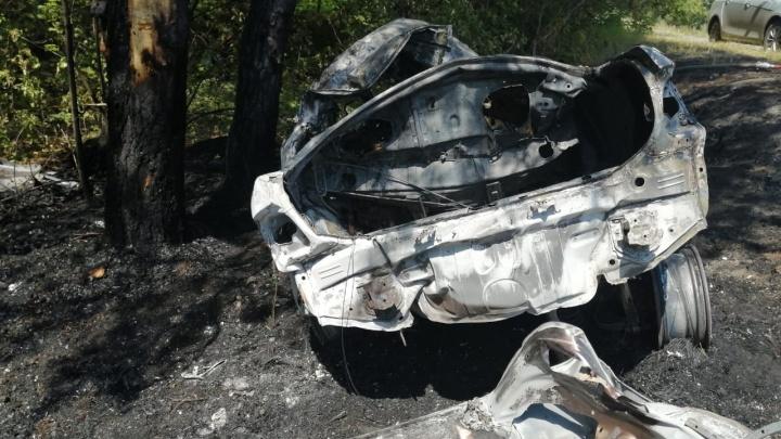 Появились фото и подробности аварии под Самарой, где погибли четыре человека