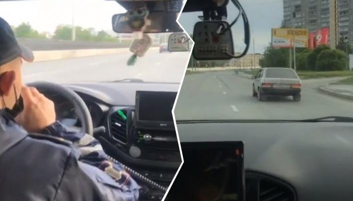 Дорожное видео недели: погоня со стрельбой через весь Екатеринбург, драка водителей и девочка за рулем BMW