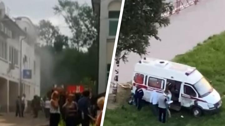 ДТП со скорой и пожар в центре города: что произошло в Ярославле за сутки. Коротко