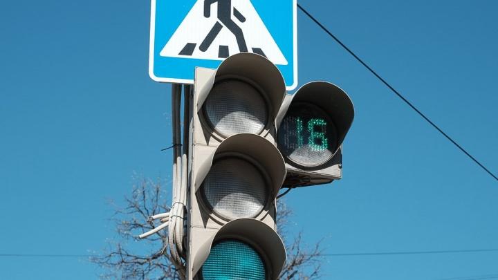 В Перми на перекрестке улиц Сибирской и Краснова появился светофор