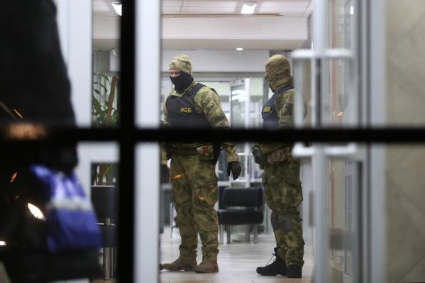 ФСБ России по Курганской области пришла в офис АО «Водный Союз»