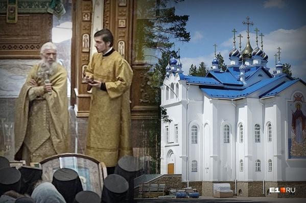 Всего на территории Среднеуральского женского монастыря пять храмов, два из них еще строятся