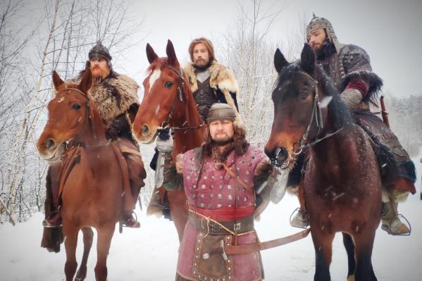 На съемках фильма «Сердце Пармы» лошади очень старались и выполняли все команды актеров