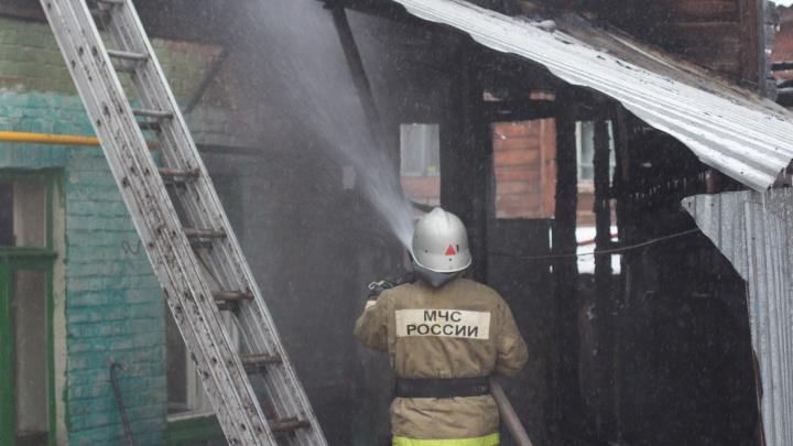 В Самарской области в пожаре погибли мама с 3-летним ребёнком