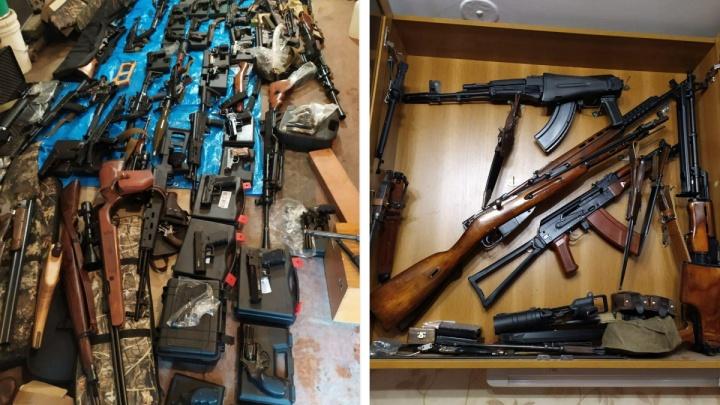 В Telegram появилась информация о подпольной мастерской оружия и боеприпасов в Новосибирской области
