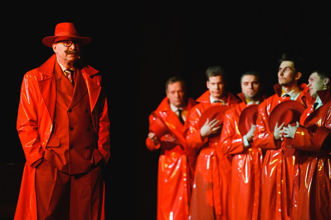 Загадочные «люди в красном»