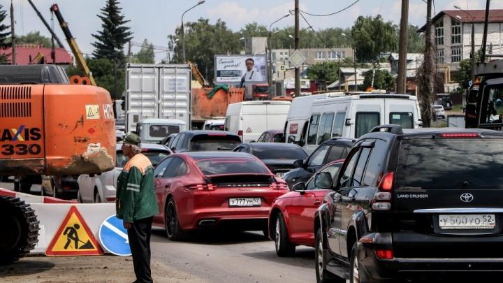 Изменилась схема движения на развязке в Ольгине
