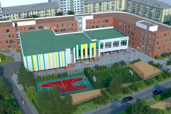 Новую школу на месте снесенной гимназии № 40 построят до конца 2022 года