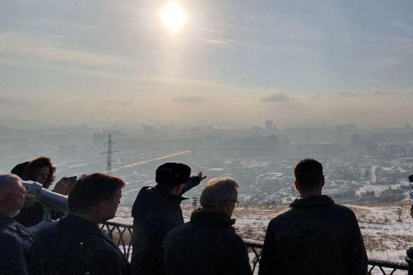 Светлана Радионова была в Красноярске в прошлый вторник