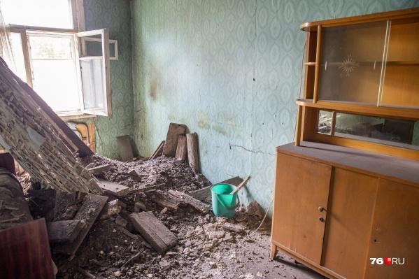 Раньше в этой комнате жил пенсионер