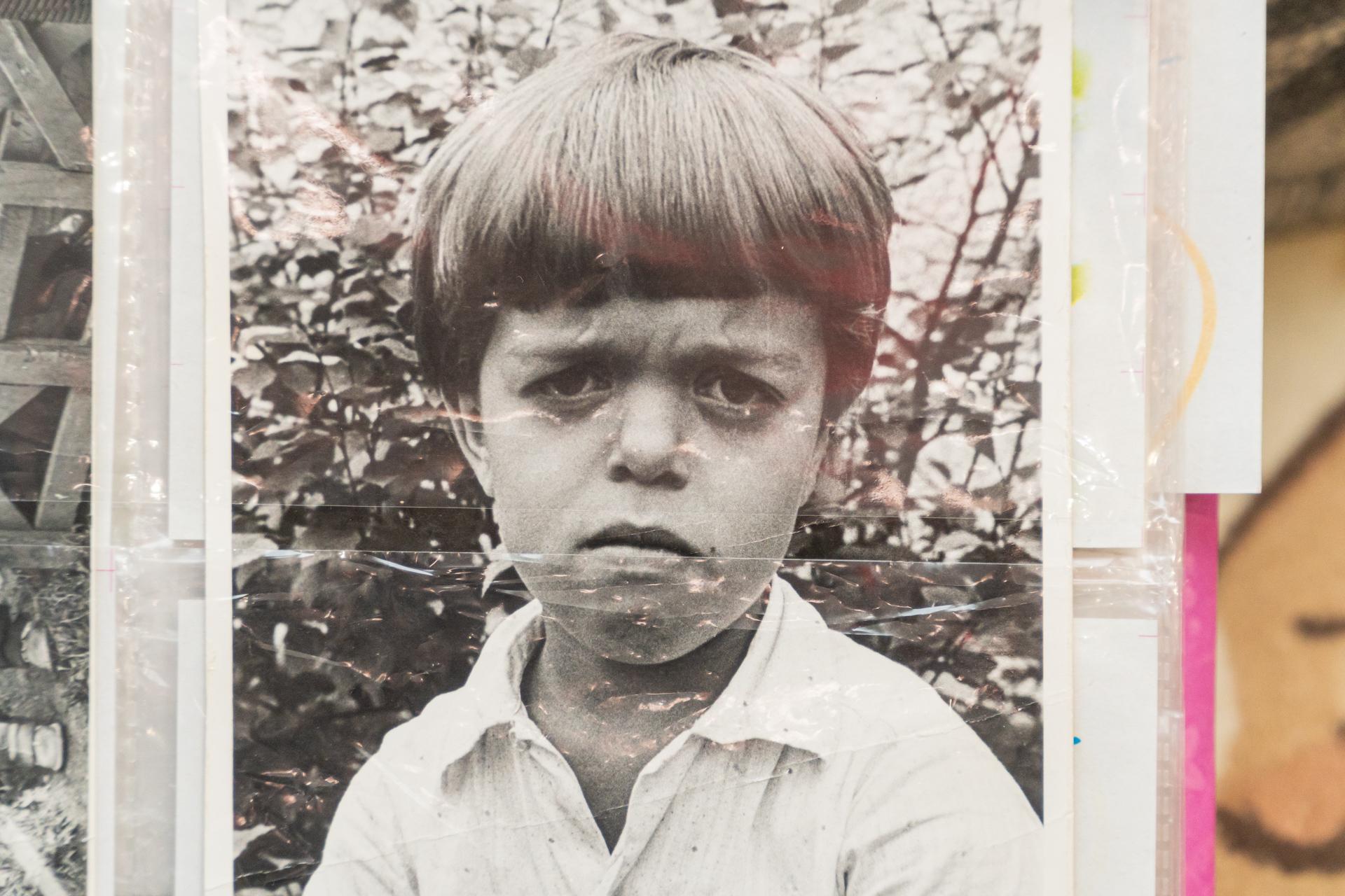 Фотографии, сделанные отцом, Алексей бережно хранит