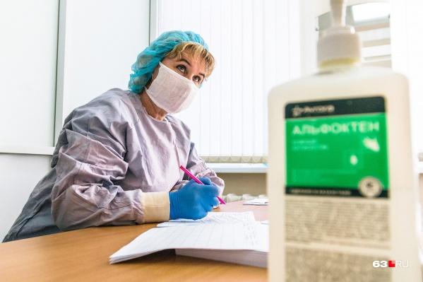 На выплаты могут рассчитывать врачи, борющиеся с коронавирусом