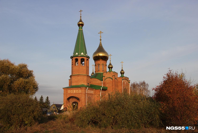 Церковь построили сравнительно недавно