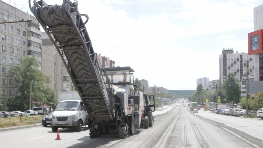 Публикуем список челябинских дорог, которые в четверг перекроют из-за ремонта