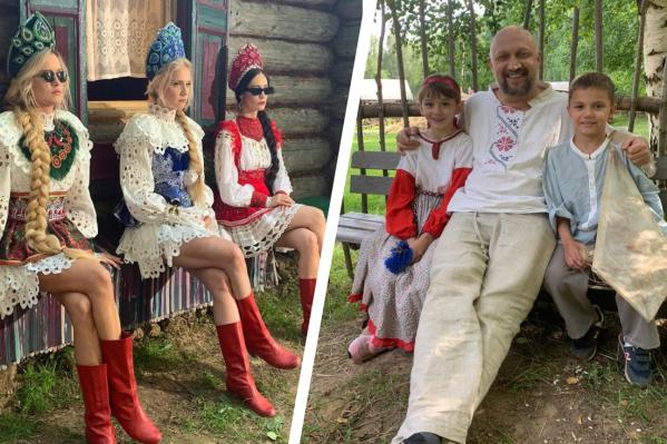 Группа «Фабрика» и Гоша Куценко побывали в Ярославской области