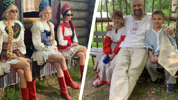 «Такое наслаждение»: Гоша Куценко и группа «Фабрика» провели несколько дней в ярославской деревне