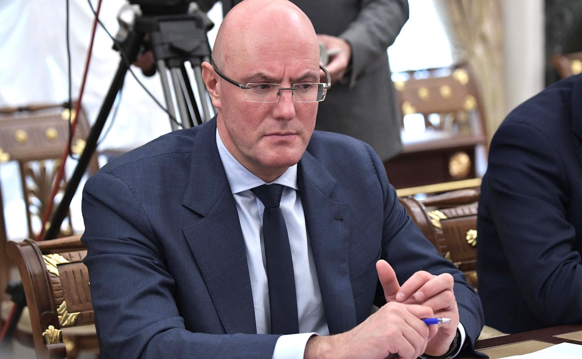 Заместитель Председателя Правительства Дмитрий Чернышенко