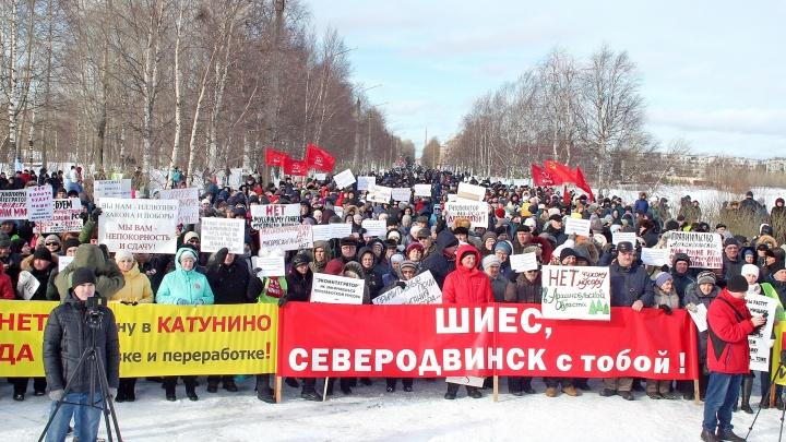 Нестоличный протест: фото с митингов и пикетов 15 марта в Архангельской области (и не только)