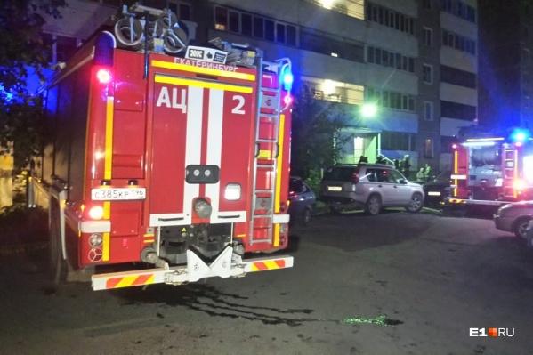 Из подъезда спасатели эвакуировали 45 жильцов