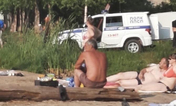 В Верх-Исетском пруду утонул мужчина