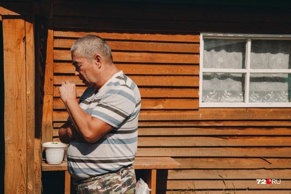 Салим Шамсутдинов. Бывший следователь. Вышел на пенсию после инсульта