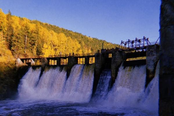 Гидроэлектростанция Пороги хороша в любое время года