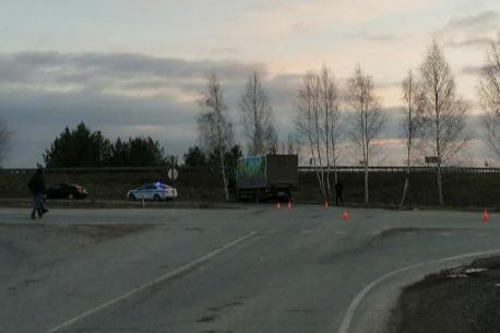 Авария произошла на федеральной трассе